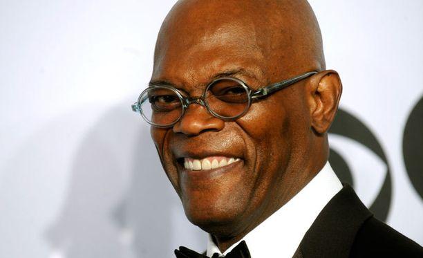 65-vuotias Samuel L. Jackson esiintyi Pulp Fictionissa Jules Winnfieldin roolissa.