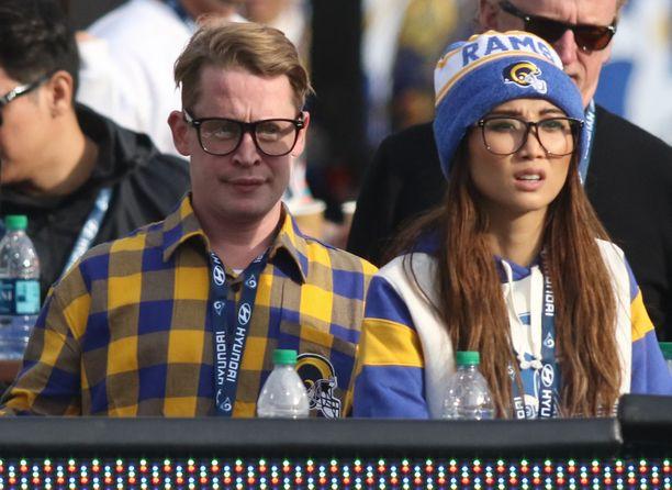 Macauley Culkin ja Brenda Song ovat tuoreita vanhempia. Kuva on vuodelta 2019.