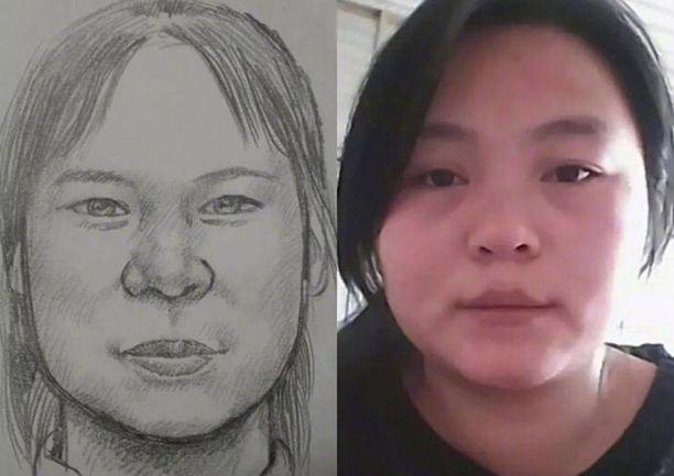 Tämä poliisin piirtäjän kuva oli ratkaiseva tyttären löytymisessä.