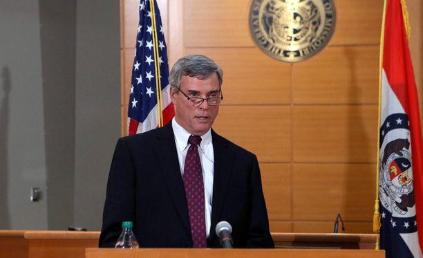 Robert McCulloch St. Louisin syyttäjänvirastossa kertoi syyttämättäjättämispäätöksen varhain tiistaiaamuna Suomen aikaa.