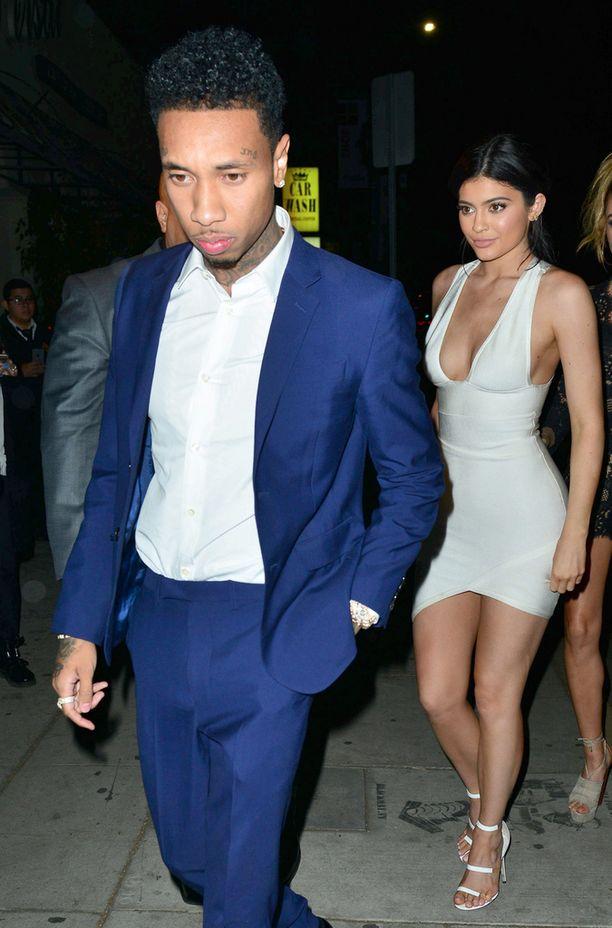 Kardashian-klaanin Kylie Jenner seurustelee nykyisin räppäri Tygan kanssa.