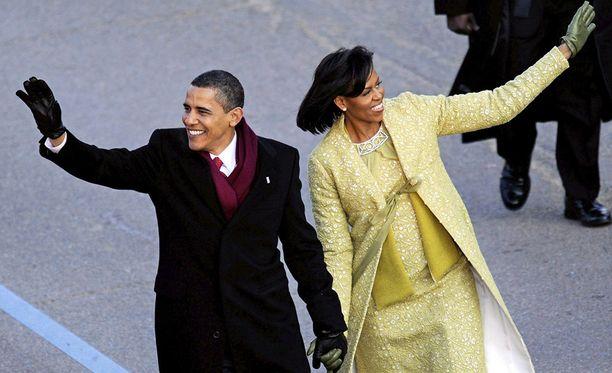 Perjantaina väistyvä presidenttipari ei tule kärsimään taloudellisesta ahdingosta. Kuva on vuodelta 2009.