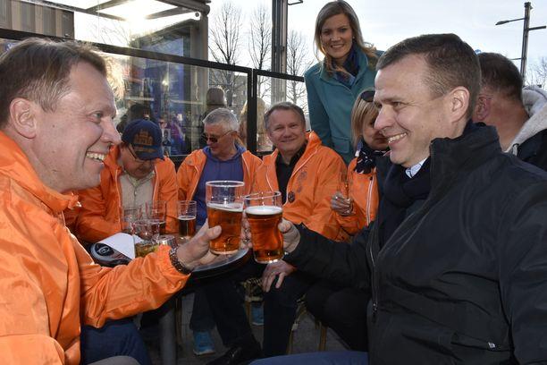 Petteri Orpolla on vaalien loppusuoralla pelissä paikkansa kokoomuksen puoluejohtajana.