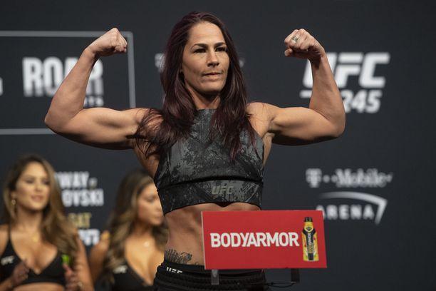 Jessica Eyen valmistautuminen UFC-illan pääotteluun ei mennyt putkeen. Arkistokuva.