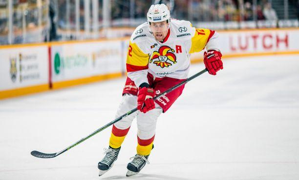 Marko Anttila tykitti Jokerien 3–2-voittomaalin Ufassa.