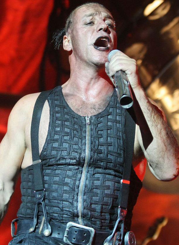 Rammstein esiintyy lauantaina Rock The Beachissa.
