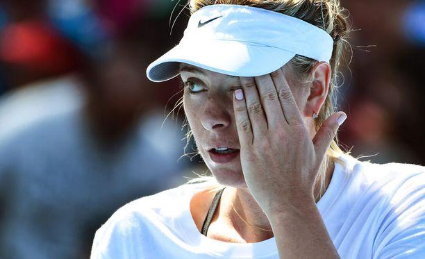 Maria Sharapovan kilpailukielto alkaa 12. maaliskuuta.
