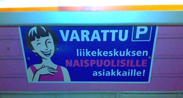 Tasa-arvovaltuutetun mukaan naisparkit Tampereella ovat EU-direktiivin vastaisia.