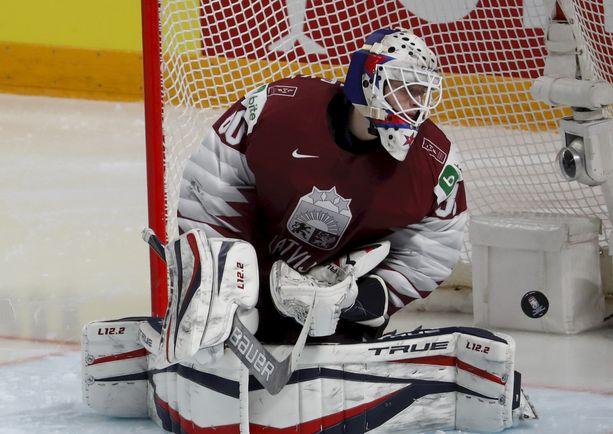 Matiss Kivlenieks edusti Latviaa tämän kevään MM-turnauksessa Riiassa.