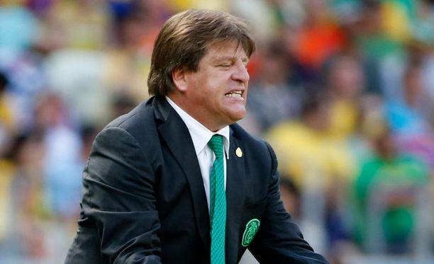 Miguel Herreran mielestä Meksiko koki vääryyttä Hollantia vastaan.