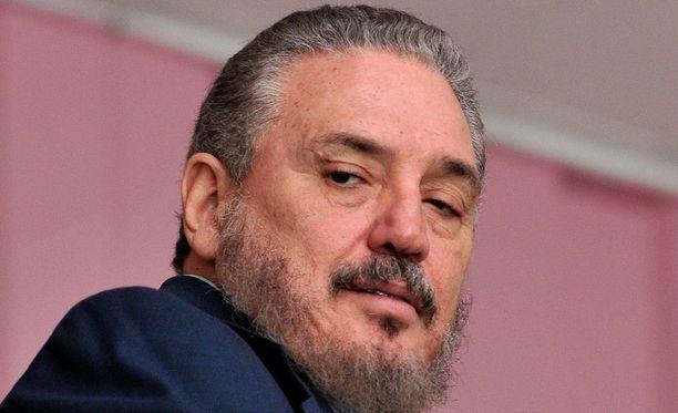 Fidel Castron poika Fidel Castro Diaz-Balart on kuollut. Kuvassa Fidel Castro Diaz-Balart Havannassa vuonna 2009.