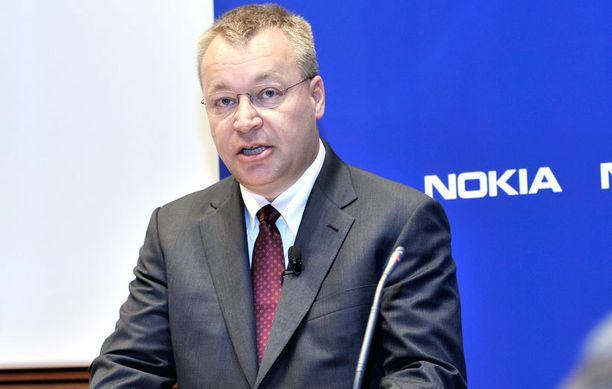 Odotukset Nokiaa kohtaan ovat korkealla. Kuvassa Nokian toimitusjohtaja Stephen Elop.