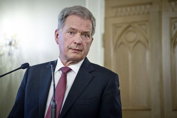 Tasavallan presidentti Sauli Niinistö odottaa hallituksen linjausta al-Holin suomalaisista.