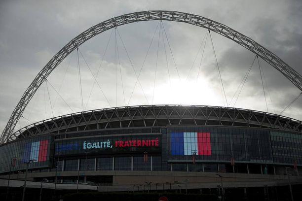 Wembley isännöi tänään pitkän historiansa tärkeintä ystävyysottelua.