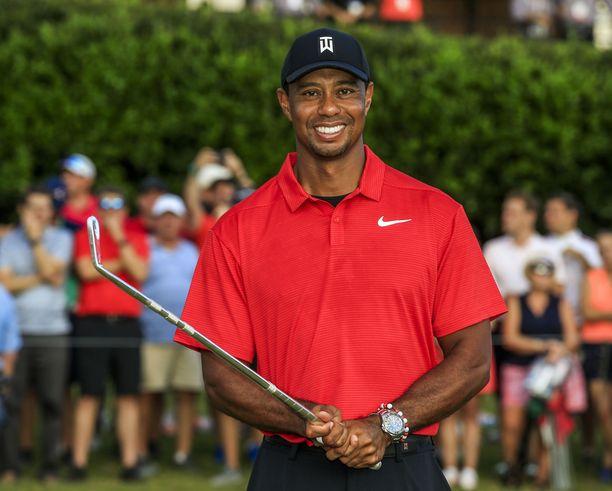 Tiger Woods teki komean paluun huipulle.