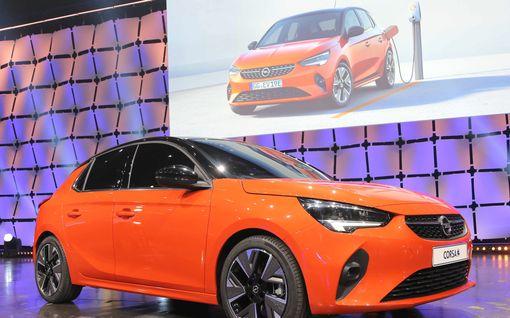 Opel sähköistää laivuettaan ranskalaisella tekniikalla: Corsa ja Peugeot 208 ovat nyt sisaruksia