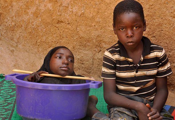 Rahma oli erityisen läheinen 10-vuotiaan Fahad-veljensä kanssa.