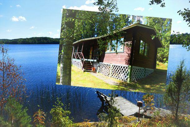 Salon Lahnajärvellä on myynnissä rantatontti, josta Helsinkiin on noin 82 kilometrin eli vajaan tunnin ajomatka. Mökissä on 65 neliötä ja hintapyyntöä 148 000 euroa.