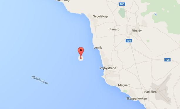 Google Maps Hammensi Ruotsiin Ilmestyi Mystinen Saari