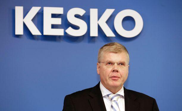 Keskon entinen pääjohtaja Matti Halmesmäki.