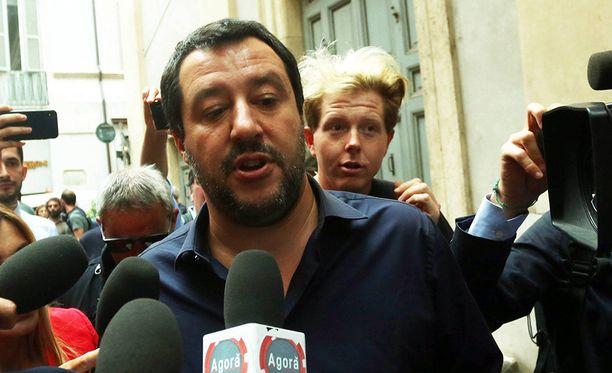 Äärioikeistolaisen Liigan johtajasta Matteo Salvinista on tulossa sisäministeri.
