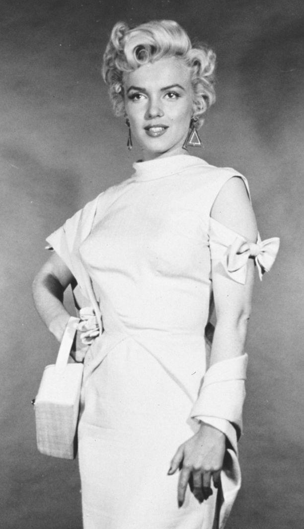 Marilyn Monroe on 1950-luvun lopulla uransa huipulla.