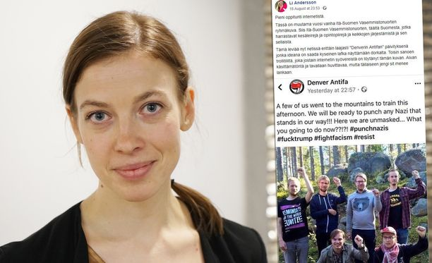 Vasemmistoliiton puheenjohtaja Li Andersson on hämmästynyt ja huvittunut siitä, että nettitrolli menee niin moneen läpi.