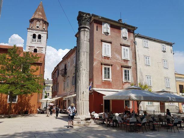 Toukokuussa Zadarissa ei ole vielä liikaa turisteja.