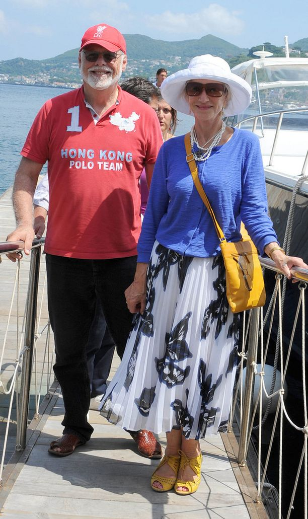 Helen ja miehensä Taylor lomailivat kesällä Ischian saarella.
