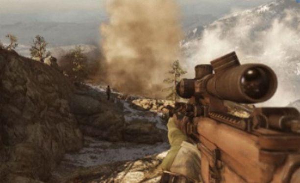 Medal of Honorin uudessa osassa taistellaan Afganistanissa.