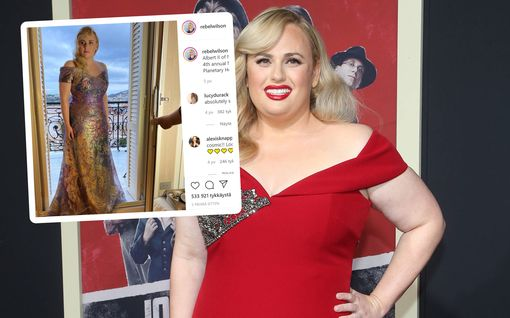 Rebel Wilsonin hurja muodonmuutos kerää kehuja - enää muutama kilo tavoitepainoon: Kuvat ennen ja jälkeen