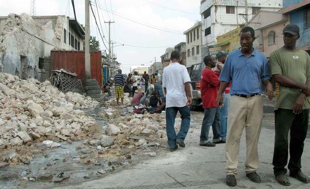 Vuonna 2010 Haitia ravisteli maan historian voimakkain maanjäristys.