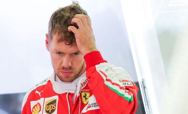 Sebastianin Vettelin rooli Ferrarilla on puhuttanut Japanin GP-viikonloppuna.