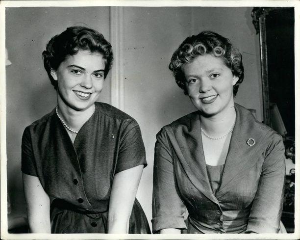 Prinsessa Margaretha ja Birgitta.