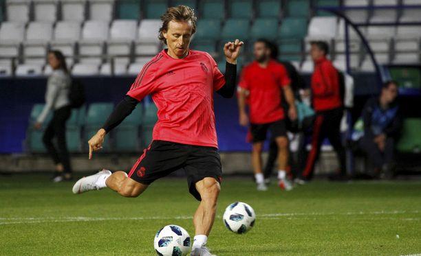 Real Madridin Luka Modric katkaisi huhuilta siivet Instagramissa.