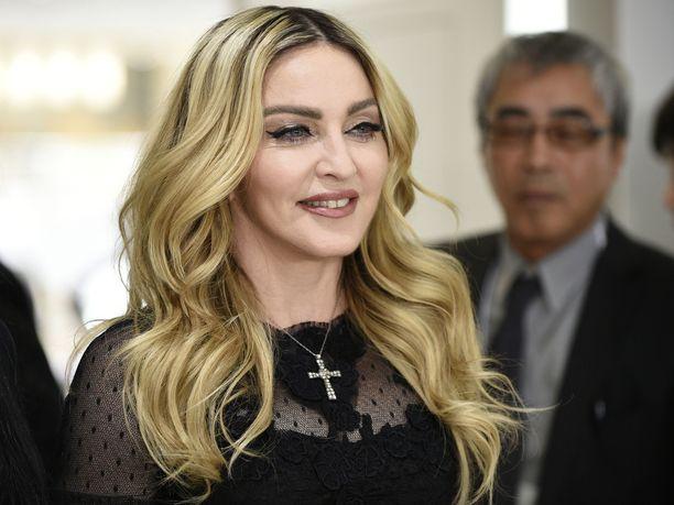 Madonna osallistui lauantaina Black Lives Matter -mielenosoitukseen Lontoossa.