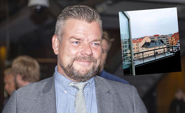 Jari Sillanpään Lönnrotinkadulla sijaitseva koti on nyt vuokrattavana.