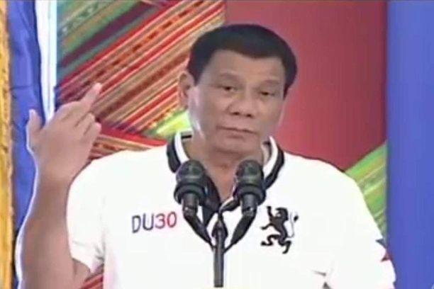 Presidentti näytti keskisormea Euroopan unionille.