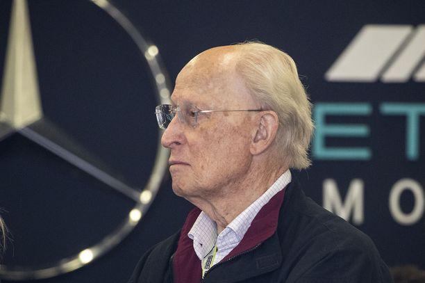 Jürgen Hubbert oli järjestelemässä Mersun paluuta F1-sarjaan 90-luvulla.