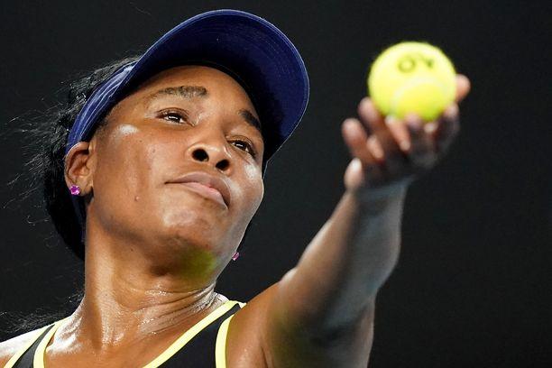 Venus Williams on maailmanlistalla sijalla 67.