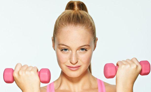 Fitnessmalli Anna Victoria julkaisi itsestään paljastavan kuvasarjan. (Kuvituskuva)