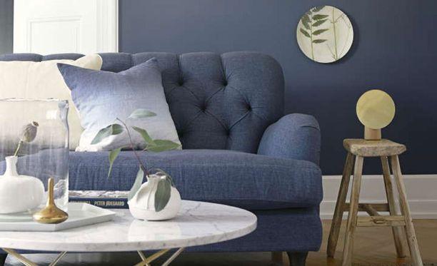 Sinisellä värillä sanotaan olevan rauhoittava vaikutus.