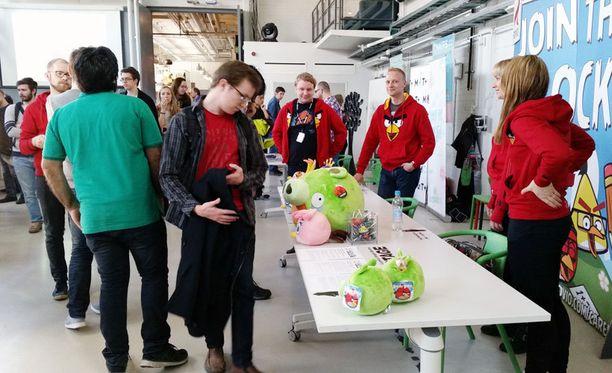 Rovio esitteli yritystä pelialan opiskelijoille Aalto in the Game -tapahtumassa.
