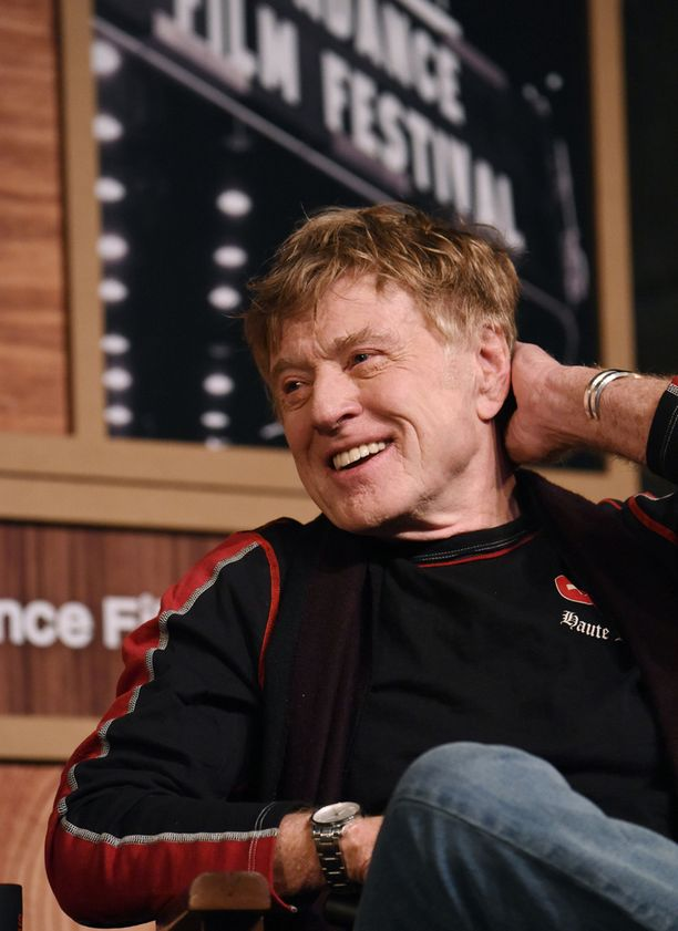 Robert Redford tammikuussa haastattelussa Sundancen elokuvajuhlilla.