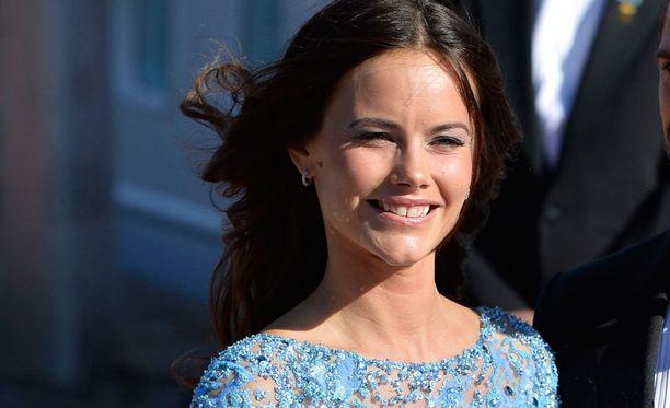 Sofia edusti alkuviikolla ensimmäistä kertaa yksin prinsessana.