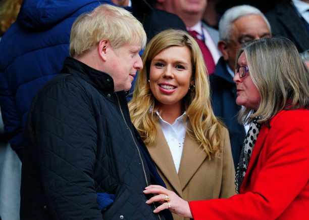Boris Johnson ja Carrie Symonds odottavat ensimmäistä yhteistä lastaan.