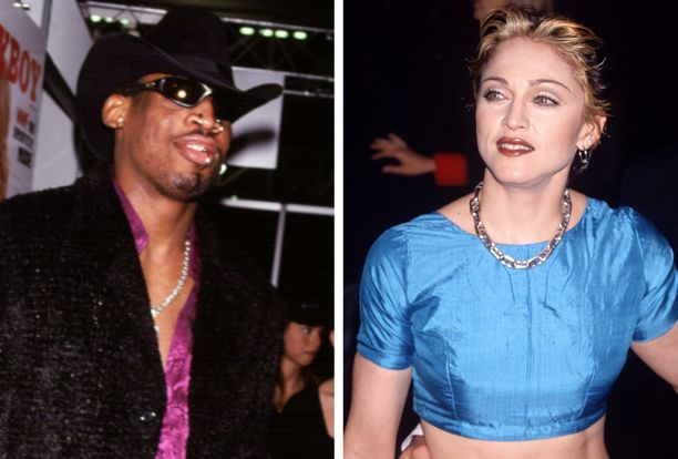 Dennis Rodman yritti aikoinaan auttaa Madonna tulemaan raskaaksi.