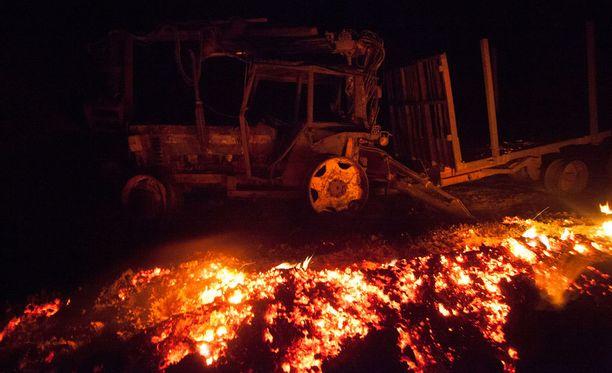 Metsäpalot ovat tuhonneet tänä vuonna jo yli 54 000 hehtaaria maatalous- ja metsäalueita Espanjassa.