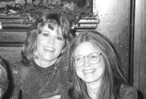 Jane Fonda ja Gloria Steinem joskus taannoin.