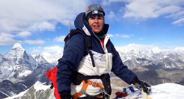 6 200 metrinen Island Peak oli korkein paikka, jossa Johanna reissun aikana kävi.
